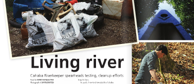 Cahaba Riverkeeper Featured in Shelby Living Magazine
