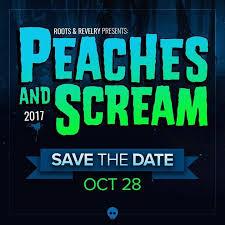 Birmingham's Biggest Halloween Bash, Peaches & Screams – Oct 28, 9 pm – 2 am